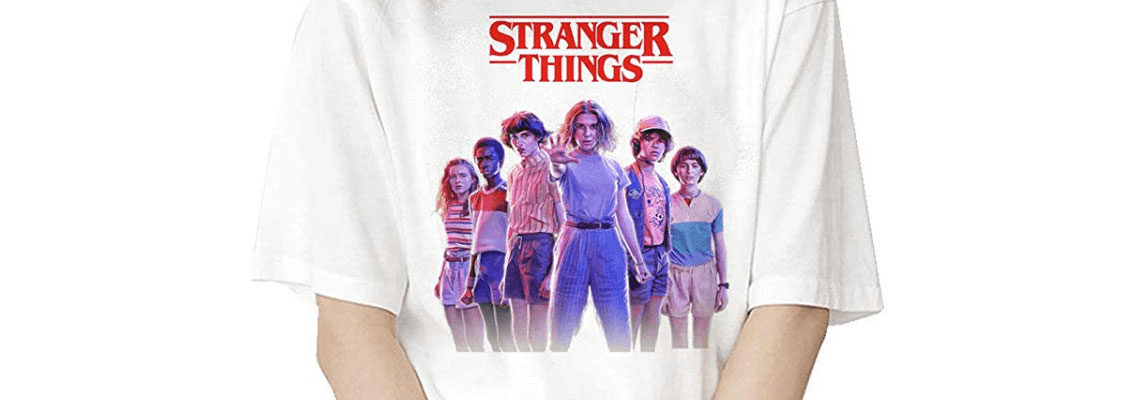 t-shirt stranger things