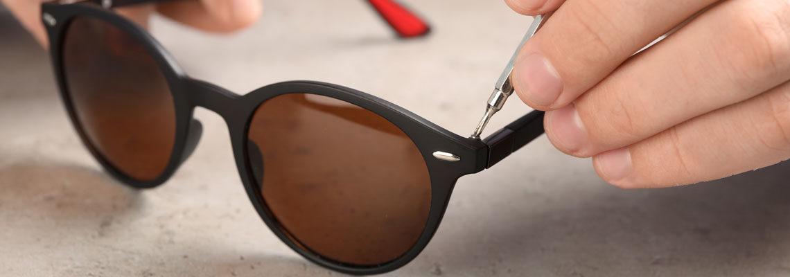 réparation lunette de soleil